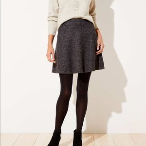 NWT Marled Loft Mini Skirt